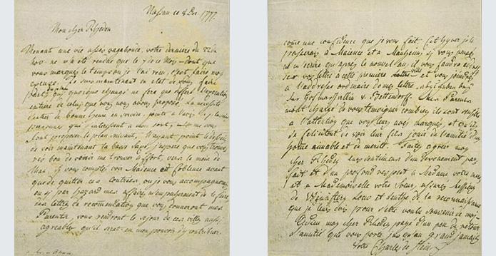 Projekt Edition Der Briefe Und Amtlichen Schriften Sowie